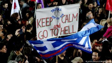 grecia protestos troika